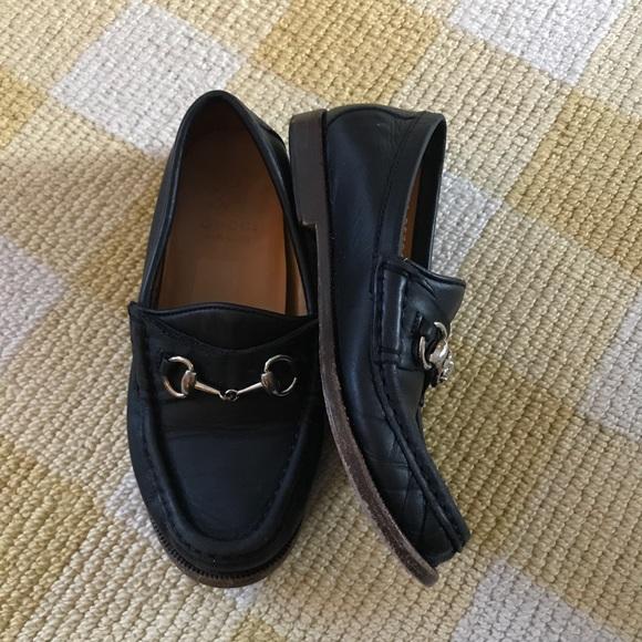 80af6520a Gucci Shoes | Authentic Horsebit Black Boys 31 12 13 | Poshmark